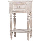 Winter Melody Bedside Table