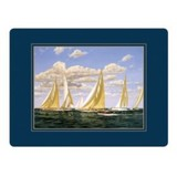 J Class Yachts Melamine Placemats (set of 4)