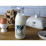 Farmers Market Milk Bottle Jug