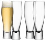 'Bar' Lager Glass (set of 4)
