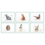 Wrendale Animal Placemats (set of 6)