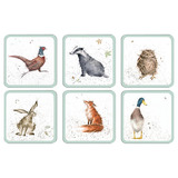 Wrendale Animal Coasters (set of 6)