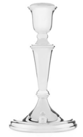 Silver Plated Tapered Candlestick - 8.5