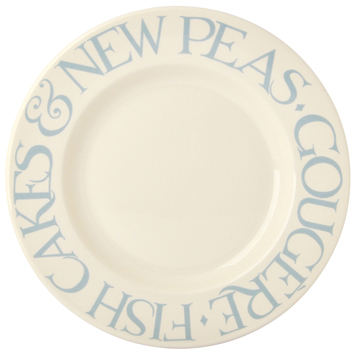pale blue toast dinner plate 10 5 at the perfect present company
