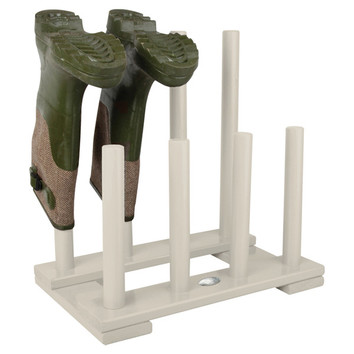 Cream Boot Rack