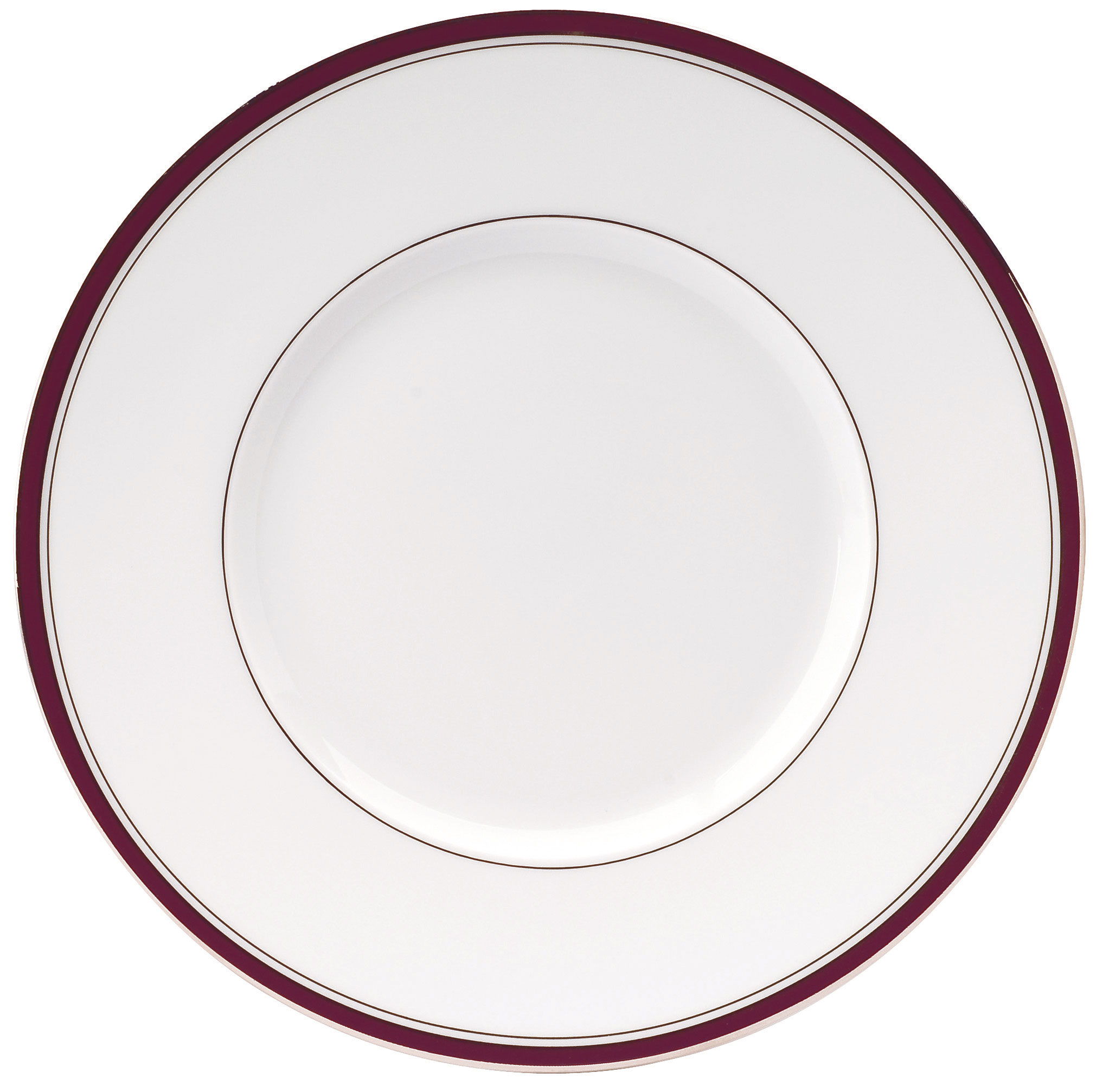 excellence dinner plate plum at the perfect present company