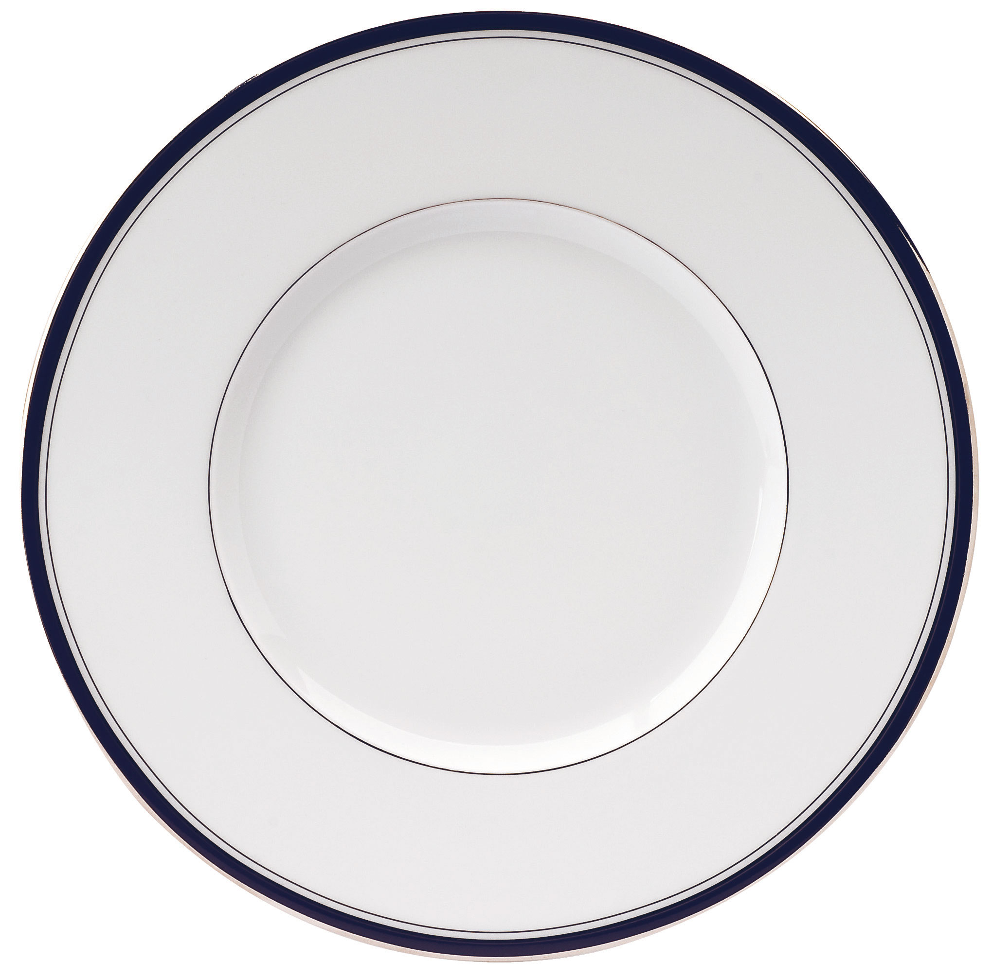 excellence dinner plate navy blue at the perfect present company