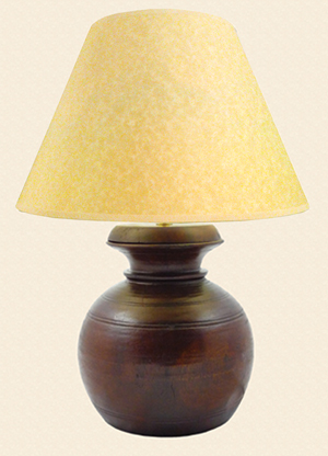 extra large himalayan honeypot lamp shade at the perfect present. Black Bedroom Furniture Sets. Home Design Ideas