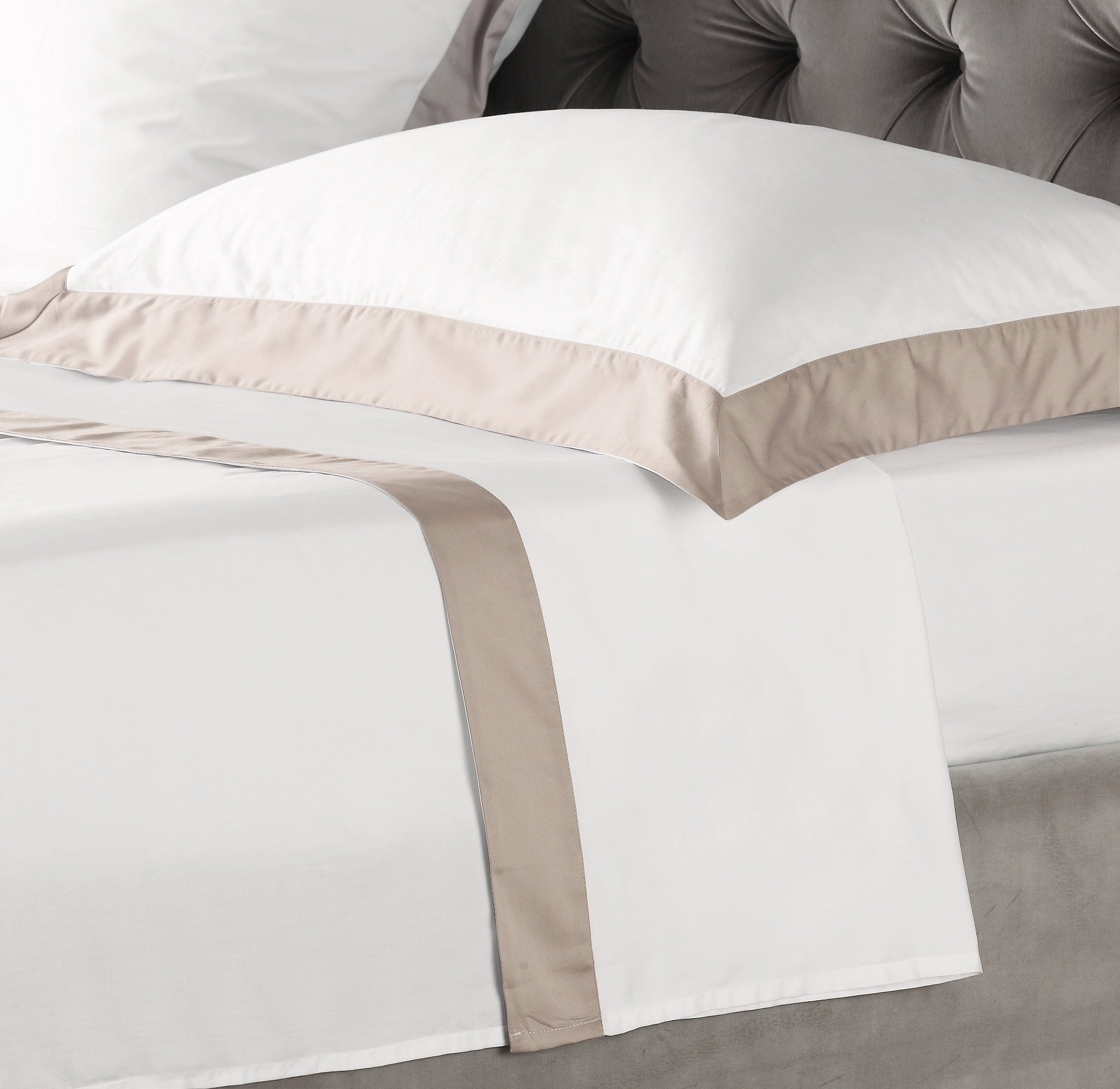 genoa flat sheet king size rose at the perfect present company. Black Bedroom Furniture Sets. Home Design Ideas