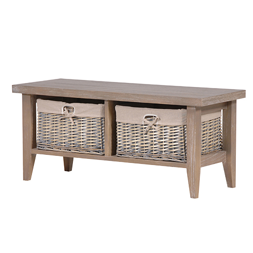 Grey Basket Coffee Table At The Perfect Present Company